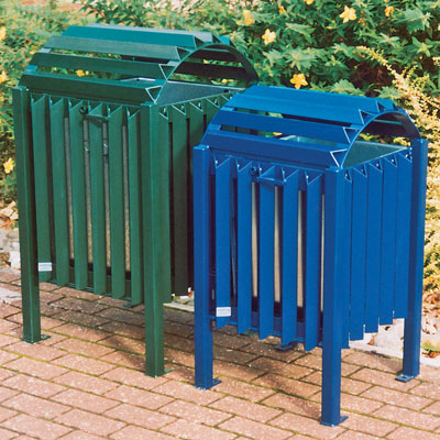 Cardiff & Brecon Bins - Lidded