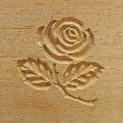 Carved Rose Logo