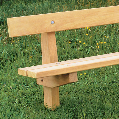 1800 Woodland Seat in iroko