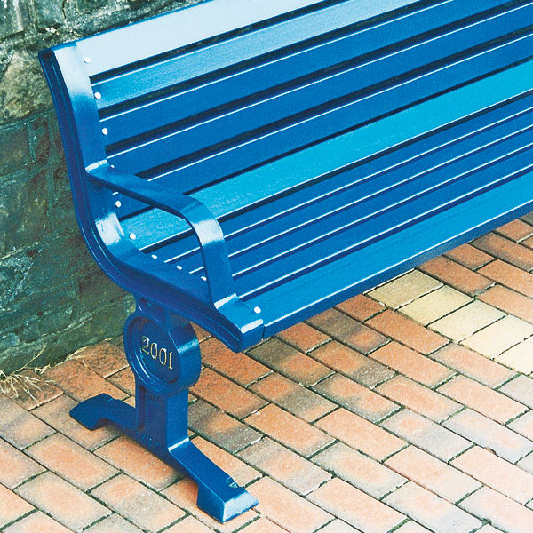 Cast iron seats with steel boards